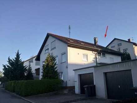 Gemütliche 1-Zimmer-Dachgeschosswohnung zum Kauf in Reutlingen
