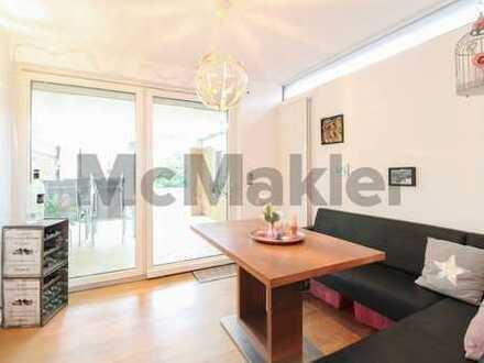 Originelle Wohnung mit Eigenheimflair bietet 5 Zimmer und Gartenbereich mit Terrasse