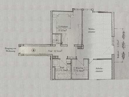 3-Zimmer-DG-Wohnung mit Balkon und EBK in Wörthsee