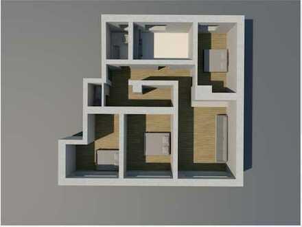 850 €, 115 m², 5 Zimmer - ideal für Studenten und junge Familien