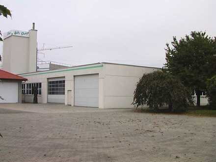 Halle mit Freifläche in direkter Nähe zur Autobahnauffahrt AA-Oberkochen A7 ab sofort zu vermieten