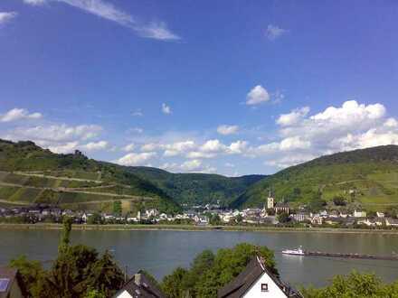 Charmante 3-Zi.-Souterrain-Wohnung, Terrasse u. Rheinblick in Oberdiebach bei Bingen