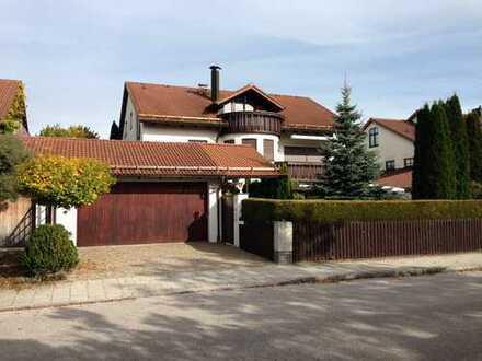 Attraktive, große 3-Zi.-Wohnung in ruhiger Lage in Dreifamilienhaus, Lohhof-Süd (Unterschleißheim S