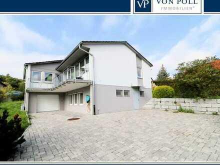 Viel Platz mit Ausblick über Forchheim