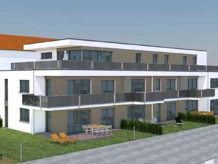 Erstbezug: stilvolle 2-Zimmer-Wohnung mit Einbauküche, Tageslichtbad und Balkon in Vöhringen