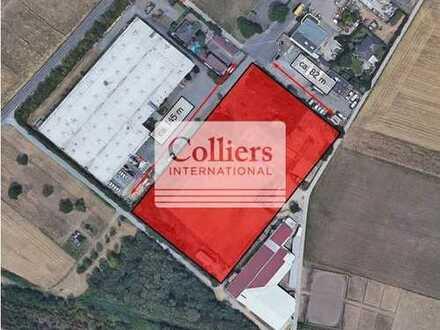 Gewerbegrundstück direkt neben der A3 -Hattersheim- bis zu 10.800 m² bebaubare Fläche!