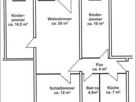 4-Raum-Wohnung am Rand von Döbeln - einziehen und wohlfühlen