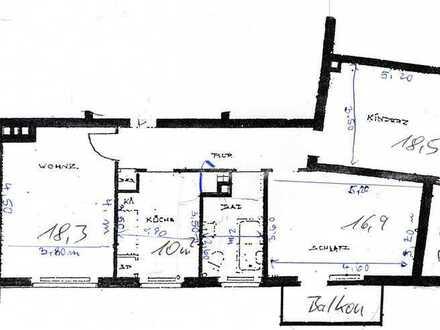 Ansprechende 3-Zimmer-Wohnung in Würzburg-Sanderau