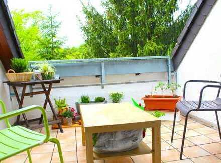 Gemütliche Dachgeschosswohnung mit sonniger Dachloggia