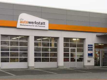 Neue KFZ-Werkstatt in 1a-Gewerbelage zu vermieten