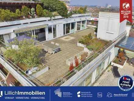 Ohne Käuferprovision: PENTHOUSE mit über 150m² Dachterrasse!