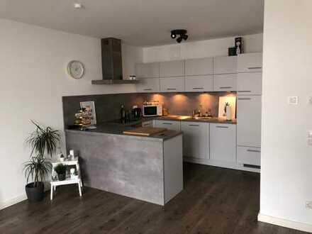 3 Zimmer Wohnung mit Einbauküche direkt an der Weser