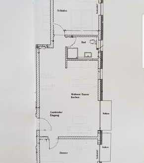 Erstbezug: exklusive 3-Zimmer-Wohnung mit Balkon und Terrasse in Östringen