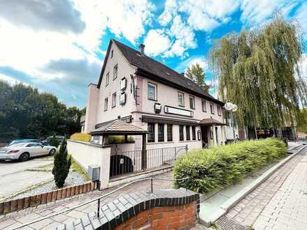 Top-Paket: Gasthof / Pension, Restaurant, Kellerkneipe, Fremdenzimmer, Wohnung, Büro, Außenplätze