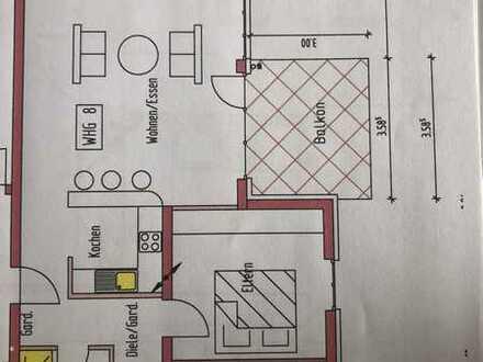 Neuwertige 3-Zi-Wohnung mit Süd-Balkon und Einbauküche in Ettenheim