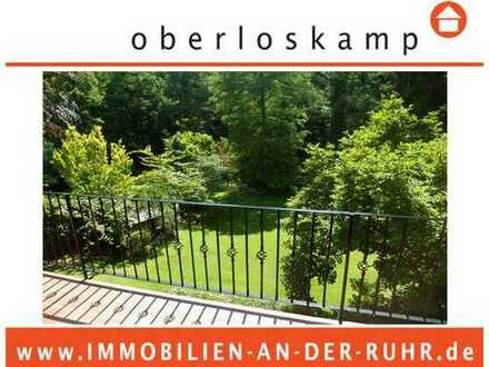 Bestlage am Waldrand im Uhlenhorst! Exklusive 4- Zimmer- Wohnung mit traumhaftem Blick ins Grüne!