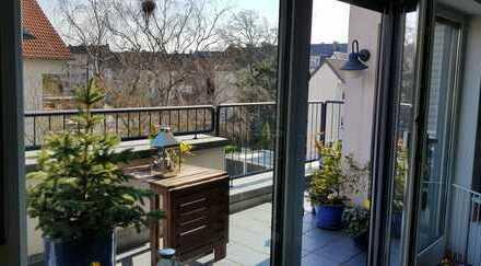ACHTUNG PREISSENKUNG !!!Hochwertige Terrassen-Dachwohnung über 2 Etagen im Zentrum Herne-Wanne