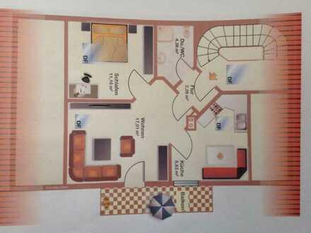 Schöne 2 Zimmerwohnung in Bad Birnbach mit Fernblick