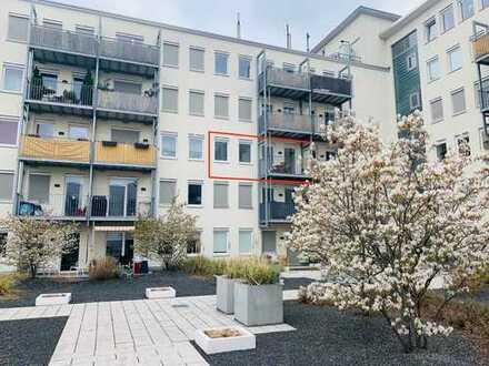 Traumhaftes Single-Appartement mit Südbalkon ruhiger Lage in Volksgartennähe