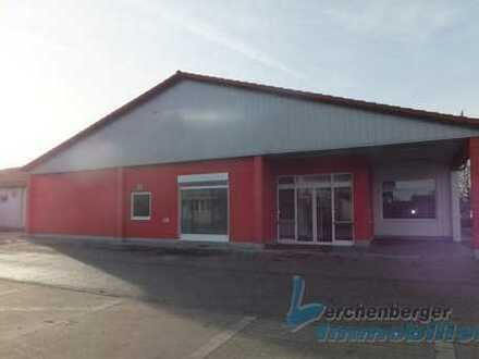 Immobilien Lerchenberger: Gewerbehalle in Eichendorf, Lager - und Verkaufsflächen