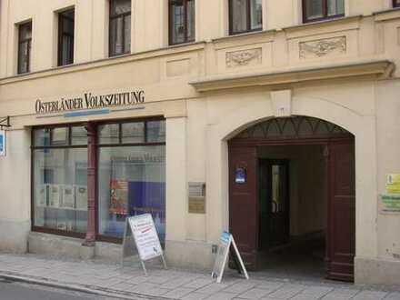 attraktiver Gewerberaum im Stadtzentrum von Altenburg