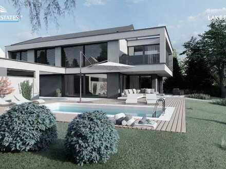 Exklusives Baugrundstück mit Altbestand inkl. Neubauvision für Design–Villa mitten in Lindau