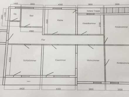 Gepflegte 6-Zimmer-Wohnung + Bad, WC, mit Balkon und Garten in Rhön--Grabfeld (Kreis)