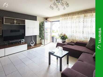 +++Praktisch geschnittene Etagenwohnung mit schönem Balkon und Einzelgarage+++