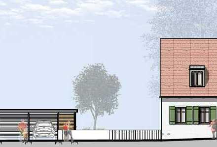 Erstbezug einer 4-Zimmer-Wohnung mit eigenem Garten in zentraler Lage