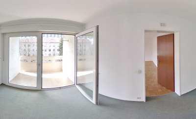 Gut geschnittene und helle 3-Zimmer-Wohnung in Memmingen