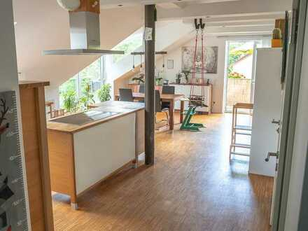 Sehr schöne 3,5-Zimmer-Eigentumswohnung im ZFH in absolut ruhiger Lage von Wangen