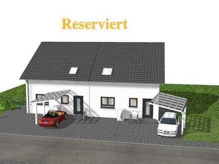 NEUBAU Doppelhaushälfte mit Keller und Grundstück in Pforzheim Hohenwart *befindet sich im BAU*