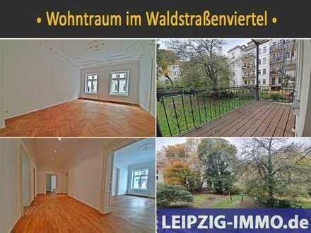 ** Wohntraum im Waldstraßenviertel ** Flügeltüren * Stuck * Balkon * Garten