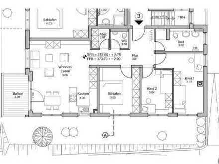 4-Zimmer-Neubauwohnung in Leonberg