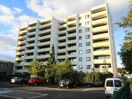 Helle 2 Zi. Wohnung mit 2 PKW-Stellplätzen und Süd-Loggia