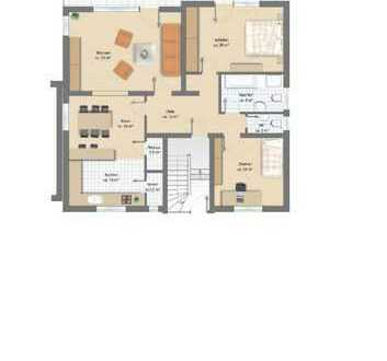 Geräumige 3,5-Zimmer-EG-Wohnung mit Balkon in Karlsbad-Mutschelbach