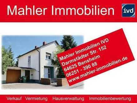Charmantes modernisierungsbedürftiges Einfamilienhaus in Bensheimer Innenstadtnähe