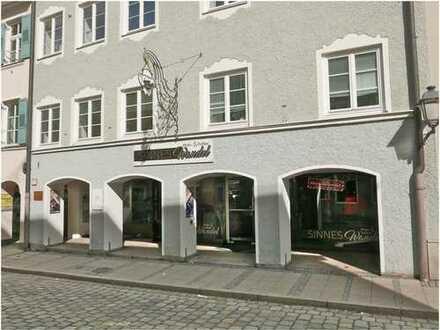 Zentrale, geräumige Ladenfläche in Weilheim
