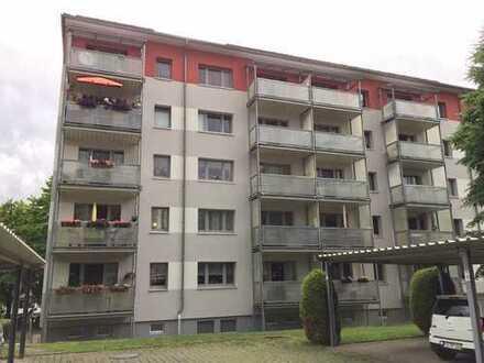 Schöne 1-Zimmer Wohnung mit Balkon in Dr.-W.-Külz-Str. 60, BED, zu vermieten! Küche vorhanden!