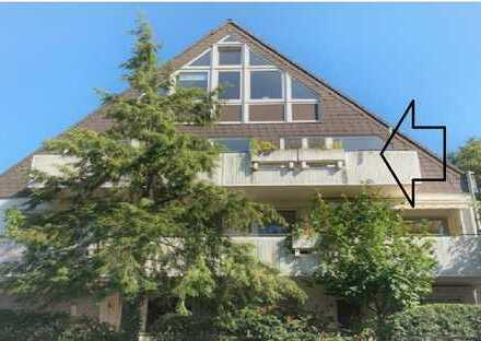 Köln Dellbrück 2-Zi. DG-Wohnung mit großem Balkon