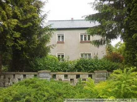Großes Wohnhaus mit Nebengelass, Garten und Wiese