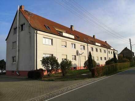 3-Zi.-Eigentumswohnung mit Balkon & Einbauküche (1. OG) in Hirschstein - Althirschstein - ETW211004