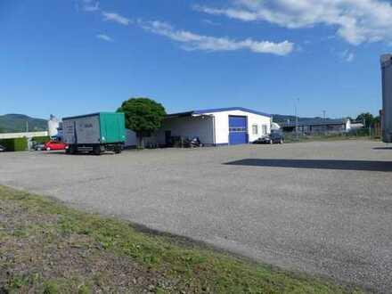 ca. 113,5 m² Lagerfläche mit ca. 2.735 m² Grundstück zu vermieten
