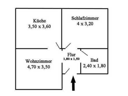 2-Zimmer-DG-Wohnung in Bamberg Gartenstadt