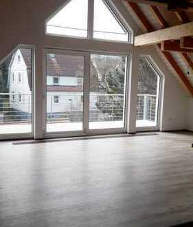 Exklusive Galerie Dachgeschoss Wohnung in Toplage