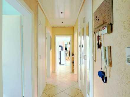 4-Zimmer-Erdgeschosswohnung in ernergetisch neu saniertem Mehrfamilienhaus in Hügelsheim