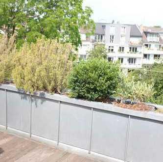 Traum-4-Zi-Maisonette m. Dachterrasse, mitten in Alt-Oberkassel, zw. Rhein und Luegallee:
