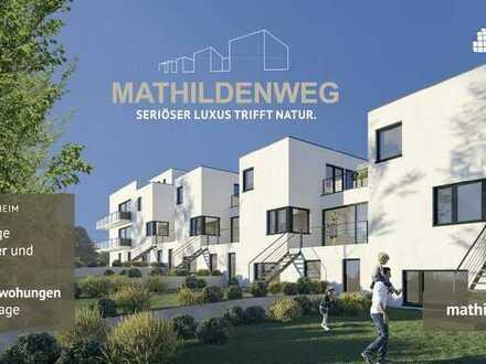Moderne Erdgeschosswohnung mit eigenem Garten