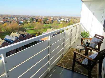 Geniessen Sie täglich diese Aussicht! 3-Zi.-Whg. mit zwei Balkonen, TG-Stellplatz und Außenstellpl.