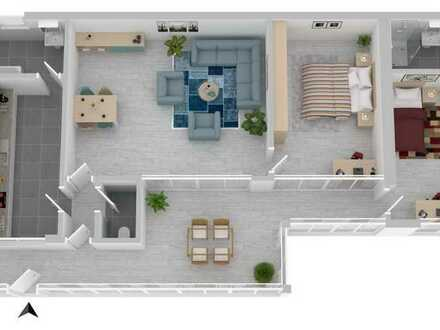 Attraktive 3-Zimmer-Wohnung mit ausbaufähigem Speicher***Ortsrandlage von Frankenthal!